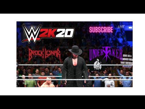 WWE 2K20 PC GAME PLAY || BROCK LESNAR VS THE UNDERTAKER || by gaming destruction thumbnail
