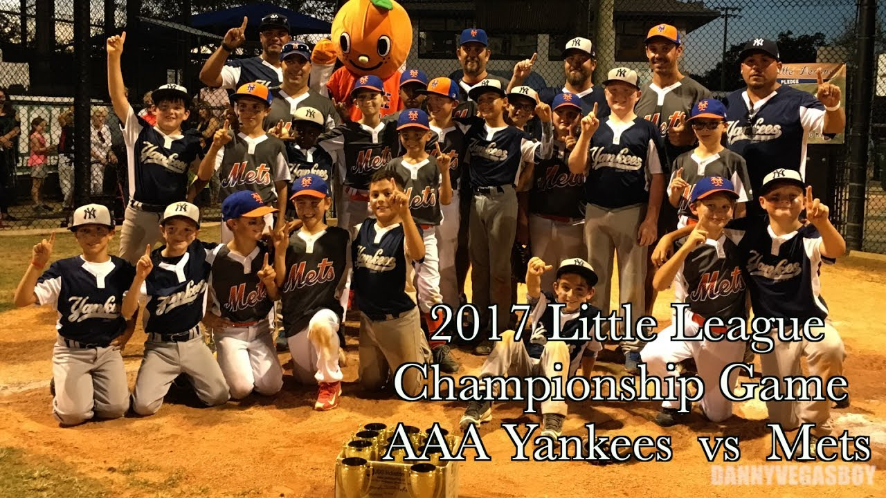 🏆 Baseball Little League Championship game AAA Highlights 🏆 - YouTube