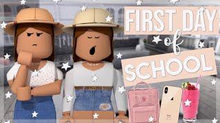 SISTERS Primo Giorno di Scuola! Ruolo di Roblox Bloxburg