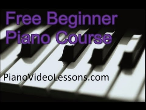 Free Beginner Piano Lessons - Lesson 4B- Playing in the Key of G (Piano Tutorial)