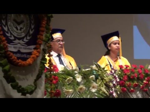 Subharti University Diploma Convocation at  Mangalya Auditorium on 16 th May Clip10