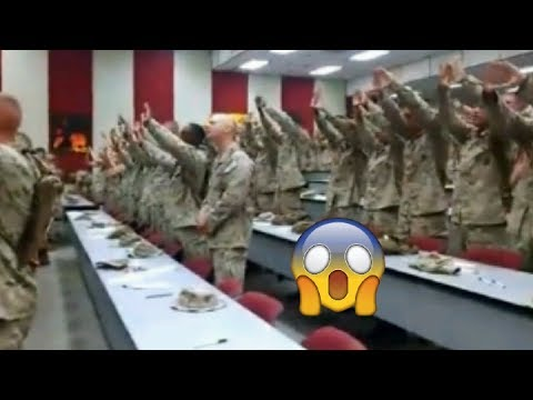 SOLDIERS SING 'I KNOW WHO I AM' BY SINACH