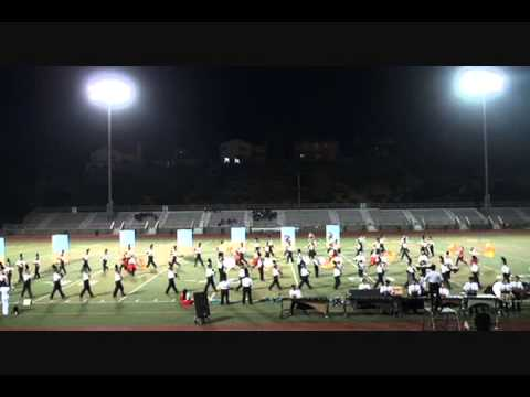Golden Valley High School Marching Band 2012-Land of the Free-Valencia Field Tournament