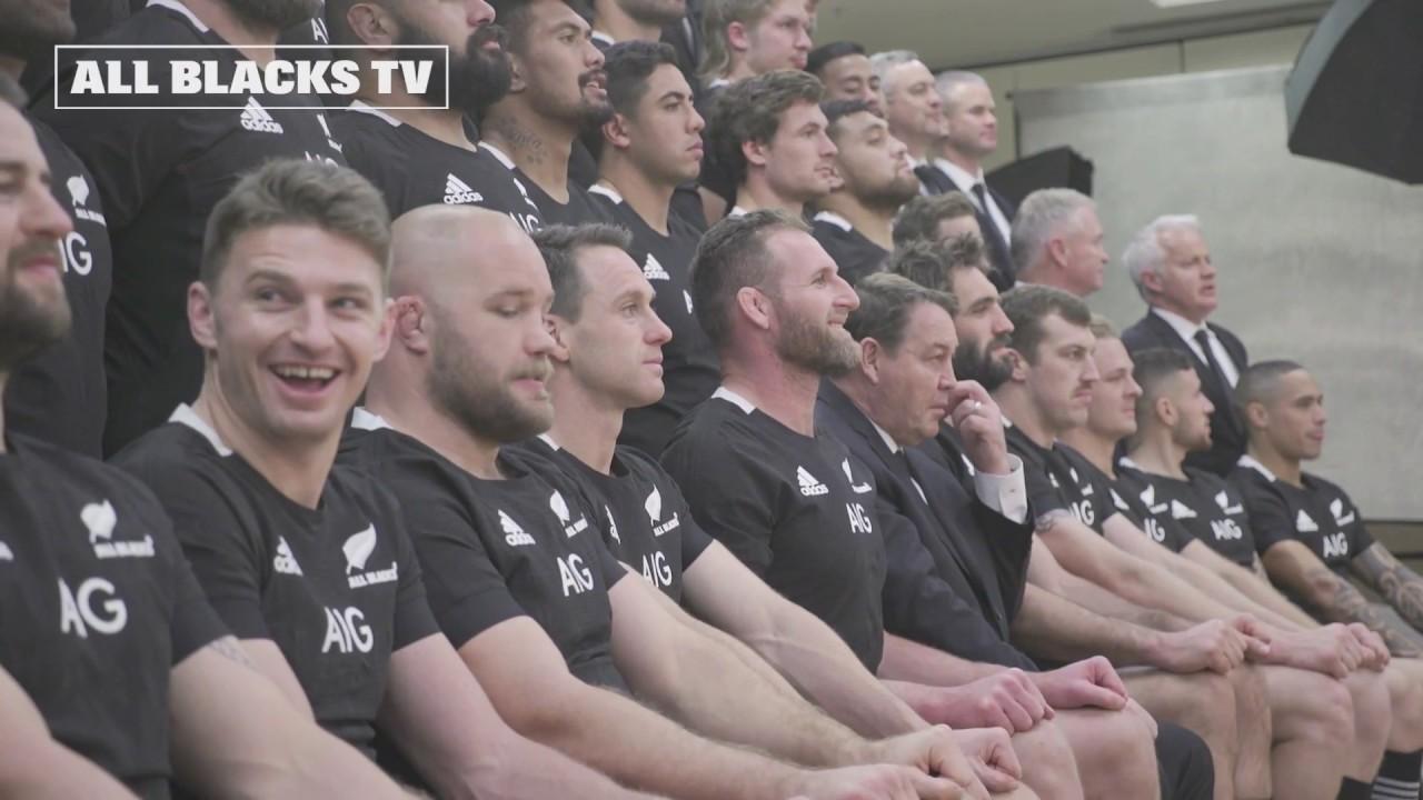 SNEAK PEEK: All Blacks Team Photo 2019
