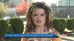 British Columbia will soon have the highest car insurance rates in Canada