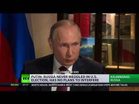 Putin: You really think two, three Russians can affect US election?