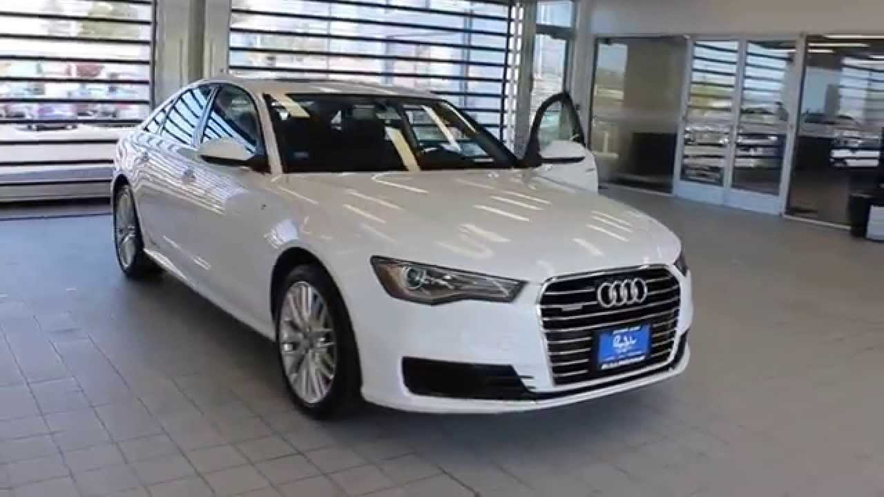 2016 Audi A6, Glacier White Metallic   STOCK# 110374   Walk Around   YouTube