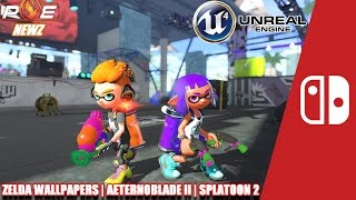 Nintendo Switch - Splatoon 2 New Stage! AeternoBlade II UE4, Female Corrin Amiibo & MORE!   PE NewZ