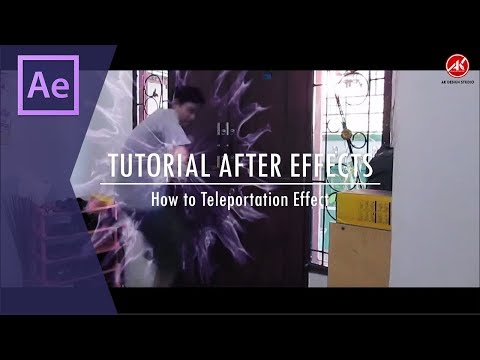 Tutorial After Effects - How To Teleportation