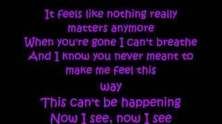 Everybody Hurts - Avril Lavigne lyrics