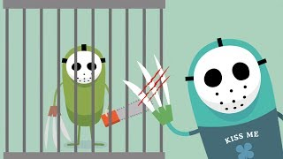Dumb Ways To Die All Series New Update! PSYCHO SEARCH - New Funny Ways To Die