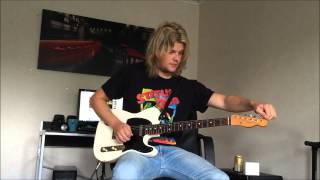 So here Im doing Rick Parfitts main solo part. Enjoy cheers!! Pleas...