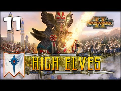 UNLEASH THE HAMMER! Total War: Warhammer 2 - High Elves Campaign - Tyrion #11
