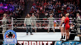 Daniel Bryan stands up to Rusev: Tribute to the Troops 2014