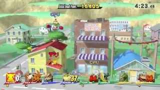 Super Smash Bros. for Wii U - SSB Wii U   Classic Mode Gameplay - User video