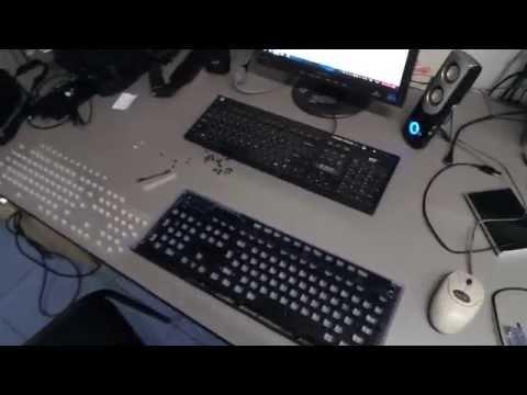 видео: Делаем подсветку клавиш на беспроводной клавиатуре своими руками (часть-1)