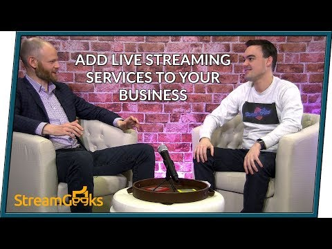 How to Add Live Streaming Services to Your Business