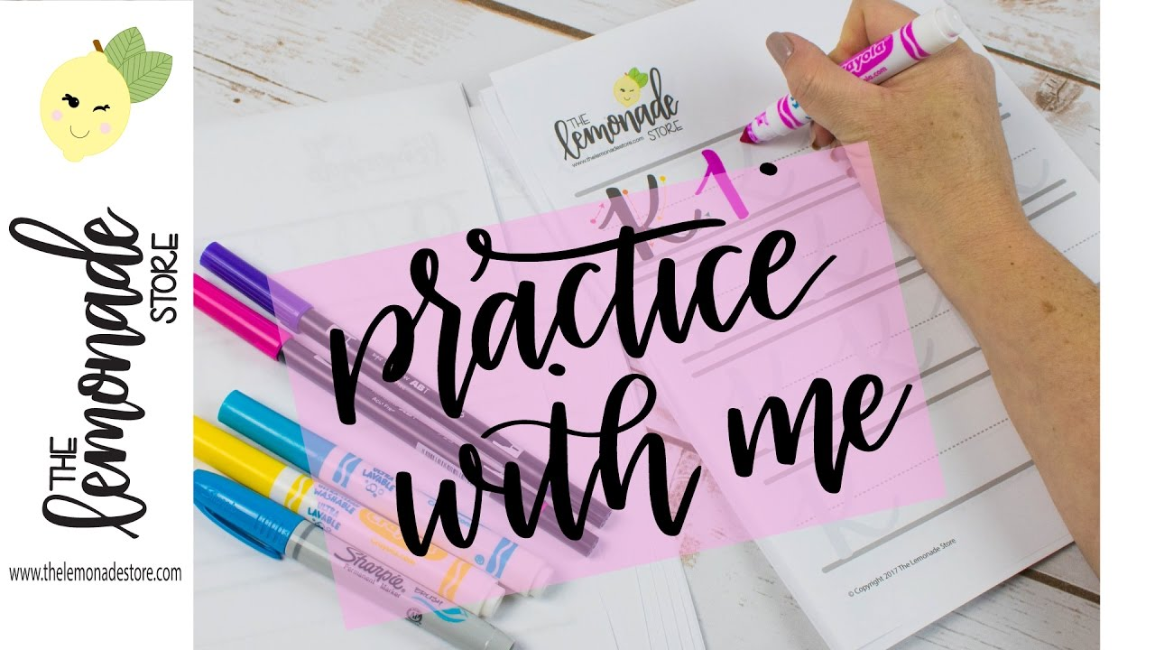 Practice Lettering With Me