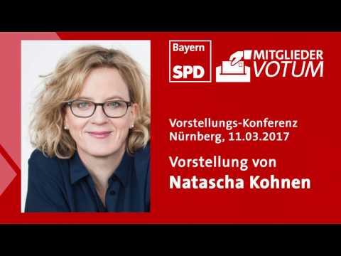 Vorstellung Natascha Kohnen