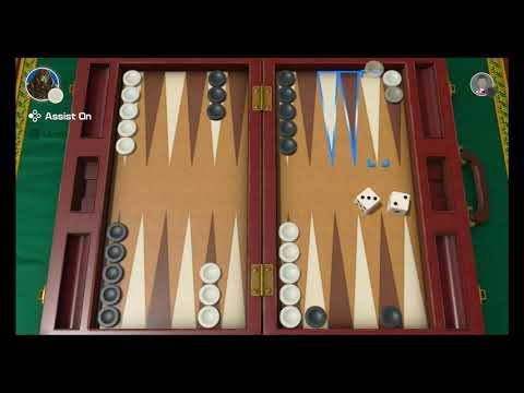 Clubhouse Games: 51 Worldwide Classics (Switch) - Game #14: Backgammon