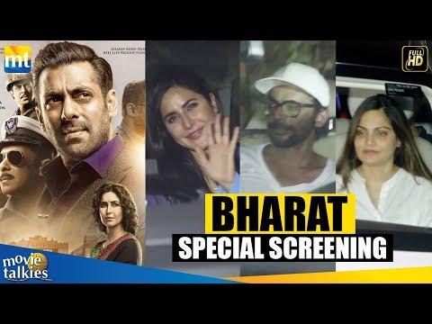 Salman Khan&39;s Bharat Movie Special Screening  Katrina Kaif Sunil Grover Alvira Atul Agnihotri