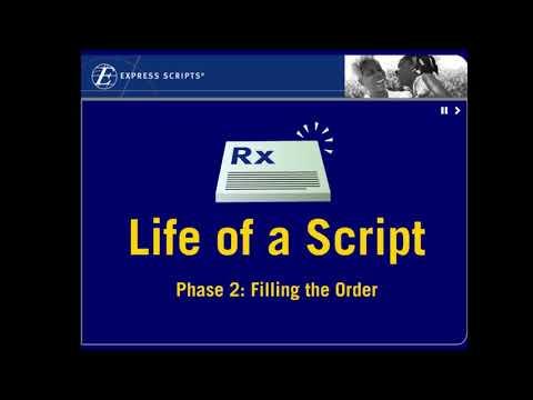 Express Scripts-Life Of A Script