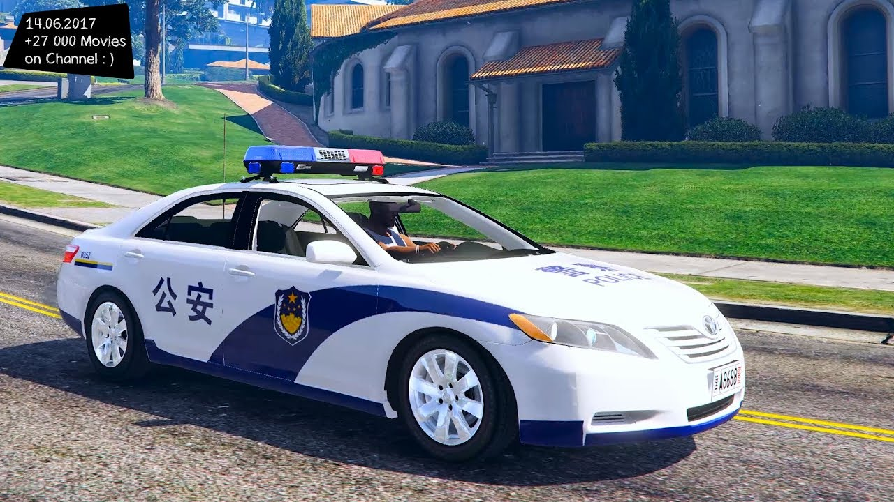 Cars 30k >> TOYOTA Chinese police car New ENB Top Speed Test GTA Mod Future - YouTube