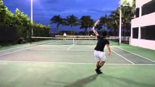 Tennis Recruitment Video for University in the USA by Tsubasa Yanagida