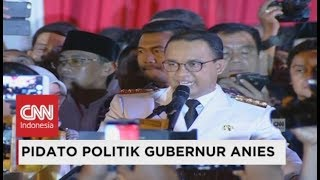 Video FULL - Pidato Politik Perdana Gubernur Anies Baswedan di Balai Kota - Pelantikan Anies Sandi download MP3, 3GP, MP4, WEBM, AVI, FLV Oktober 2017
