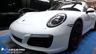 Porsche 911 Carrera S x MAGNUS PRO Paint Protection Film PPF