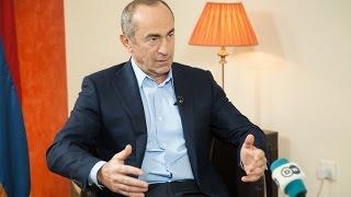 Интервью Роберта Кочаряна медиа компании Deutsche Welle