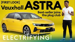 Vauxhall Astra Hybrid 2021 first look & walkaround – Best-seller joins the plug club / Electrifying