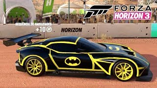 Carro do Batman Aston Martin Vulcan 2016 - Forza Horizon 3 Gameplay PC