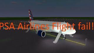 Roblox-PSA Airlines A320|| Fail