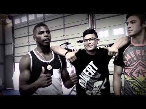 USA Boxing Stars Visit Robert Garcia In Riverside