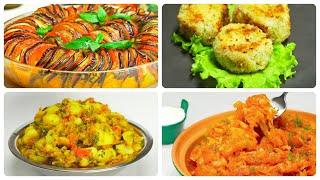 Приготовьте 4 вкусных овощных блюда. Рецепты от Всегда Вкусно!