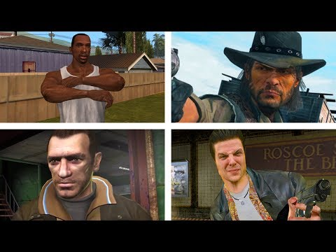 Top 10 Best Rockstar Games Characters!