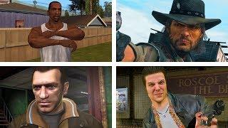 Top 10 Best Rockstar Games Characters!