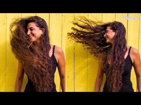 My First Raw Vegan Hair Product Review!