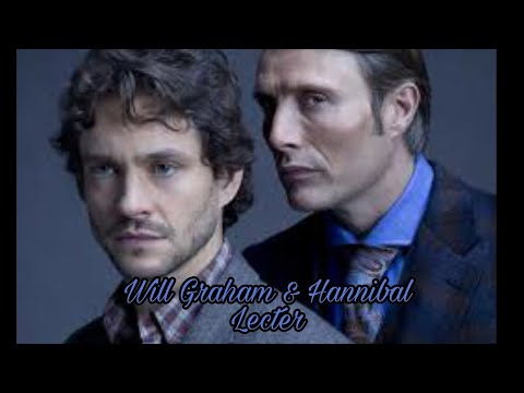 hannibal//hannibal-lecter-&-will-graham//the-world-is-unraveling//milck