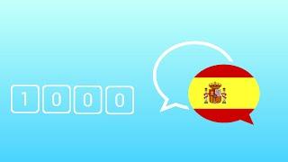 1000 Câu Tiếng Tây Ban Nha Giao Tiếp Hằng Ngày Thông Dụng Nhất - Learn Spanish Phrase