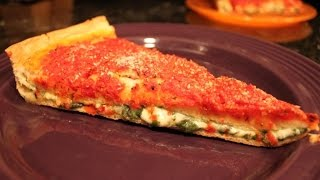 Chicago Style Spinach Pizza Recipe