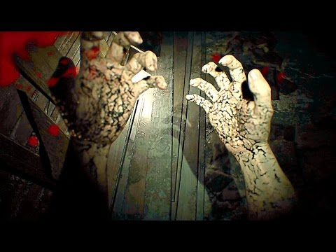 RESIDENT EVIL 7 NEW Gameplay Infected Zombie Monster Gameplay (PS4)