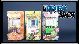 Toy Spot   Basic Fun Q*bert, Centipede and Frogger Mini Retro Arcade Games