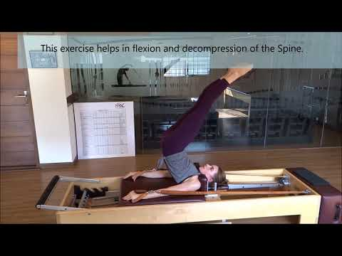 Pilates for Wellbeing Exercise: Overhead on the Reformer