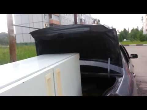 Как перевезти холодильник в багажнике машины