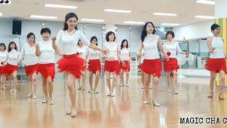 Magic Cha Cha (Beginner) line dance