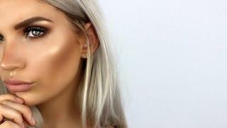 ★BRONZED GODDESS MAKEUP★(Bronzed, Highlighted & Glowing) | Natalie Boucher