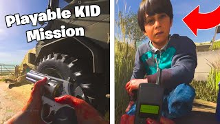 I Played a KID! MOST INTENSE Campaign Mission in Call of Duty (COD MW Gameplay)