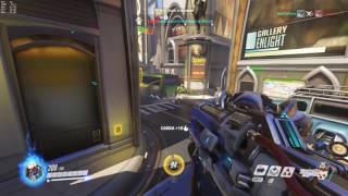 Overwatch versus Slack e Soconodente - GTX 760 - Q8300 GamePlay